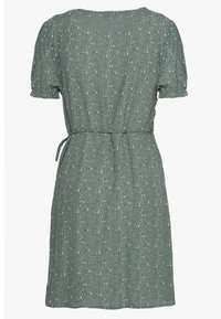 Cotton On - AMY WRAP MINI DRESS - Kjole - chinois green - 1