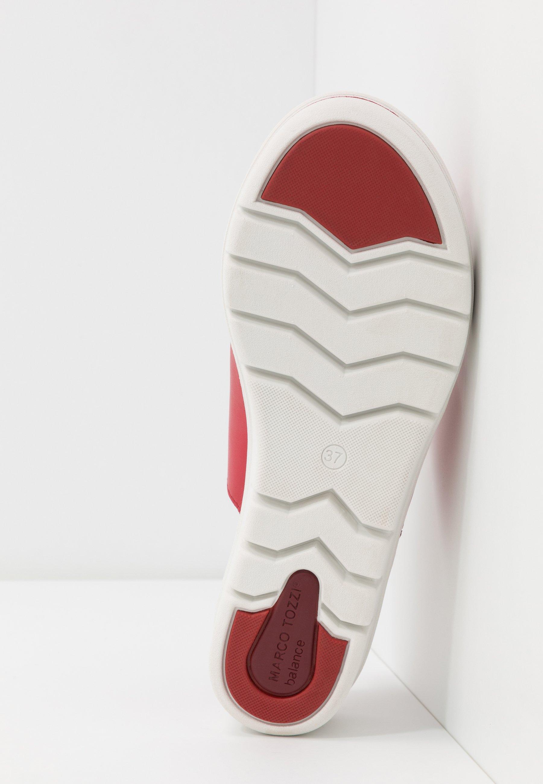 Marco Tozzi Pantolette hoch chili/rot