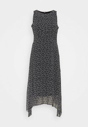 SPOT FRILL  - Day dress - black