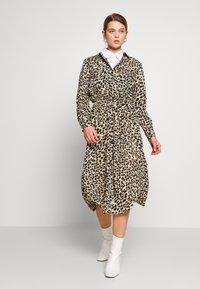 Great Plains London - CARA LEOPARD - Denní šaty - beige - 1