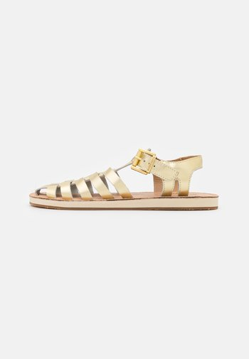 FRANCES - Sandals - gelb