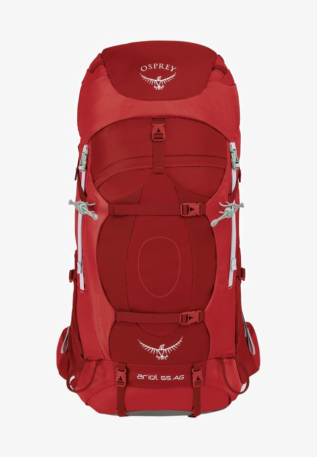 Hiking rucksack - picante red