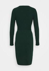 Esprit Collection - DRESS - Shift dress - bottle green - 1