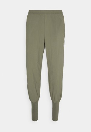 FC CUFF PANT - Tracksuit bottoms - medium olive/white/reflective silver