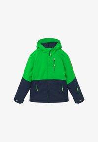 TrollKids - KIDS HALLINGDAL - Snowboard jacket - bright green/navy - 2