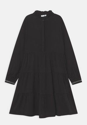 NKFNAGIRA DRESS  - Shirt dress - black