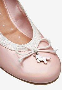 Next - UNICORN CHARM - Ballet pumps - pink - 3