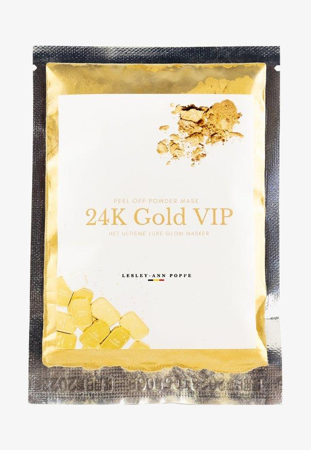 POWDER MASK 24K GOLD VIP - Masker - -