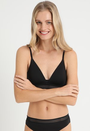 EVER FRESH - Triangel BH - black