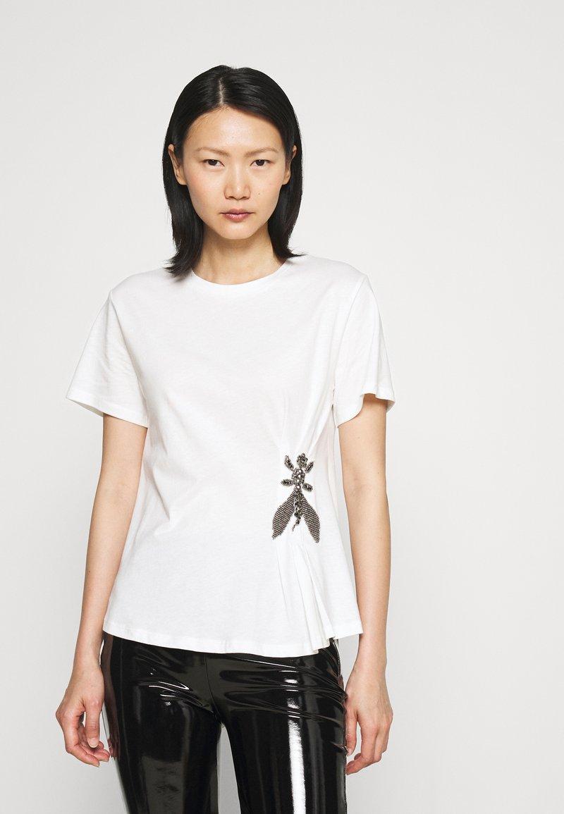 Patrizia Pepe - T-shirt imprimé - bianco