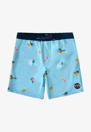 SUNDAYS LAYBACK HAWAII - Swimming shorts - blue