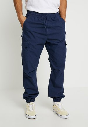 COLUMBIA - Cargo trousers - blue rinsed