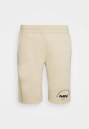 MENNACE CLUB UNISEX - Shorts - beige