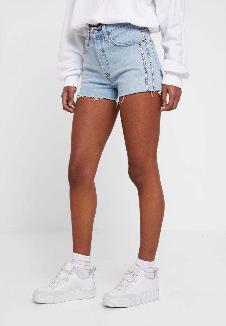 Levi's® - 501® HIGH RISE SHORT - Denim shorts - dibs tape