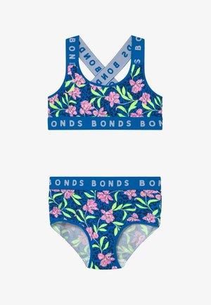 CROSS BACK - Ondergoedset - blue