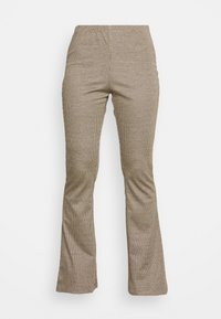 VIVEDA FLAIRED  - Trousers - black