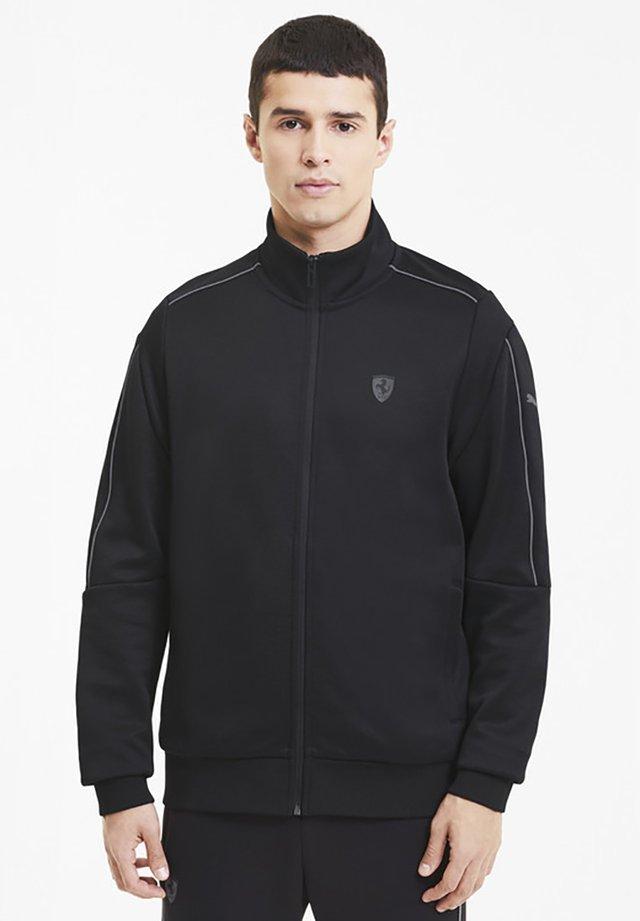 SCUDERIA FERRARI STYLE  - Training jacket - black