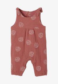 Vertbaudet - BEDRUCKTER  - Jumpsuit - rosa bedruckt - 0