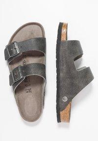 Birkenstock - ARIZONA - Domácí obuv - vintage anthracite - 1