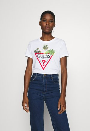 PALMS TRIANGLE - T-shirt con stampa - blanc pur