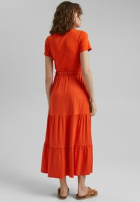 Esprit - A-line skirt - orange red - 4