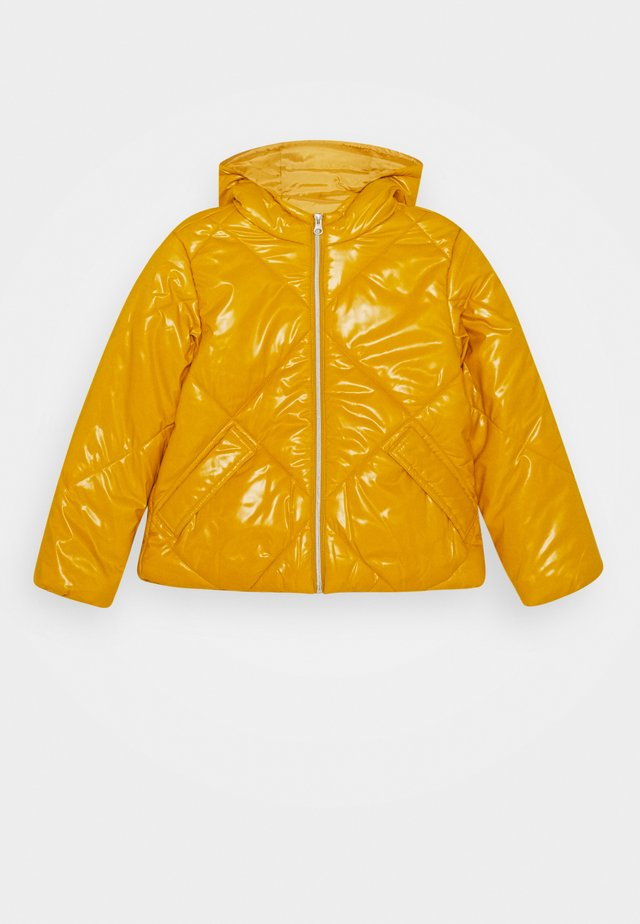 BASIC GIRL - Winter jacket - yellow