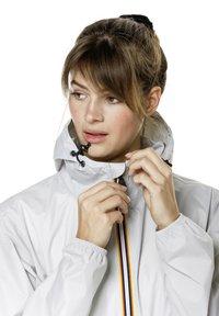 K-Way - UNISEX LE VRAI CLAUDE - Zip-up hoodie - grey mid - 4