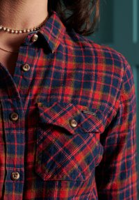 Superdry - Chemisier - red check - 1