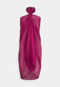 LASCANA - PAREO - Wrap skirt - dunkelbeere - 1