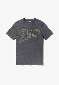 Re:Covered - 7UP NEON LOGO - Print T-shirt - blau - 0