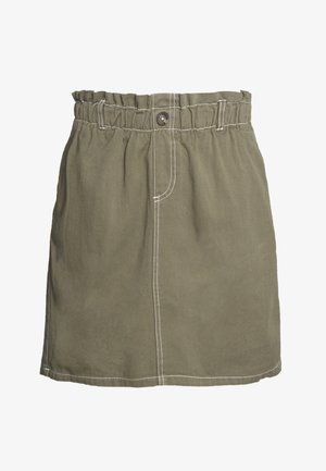 NMJUDO ELLEN PAPERBACK SKIRT - A-line skirt - kalamata