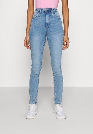 VMLOA - Jeansy Skinny Fit - light blue denim