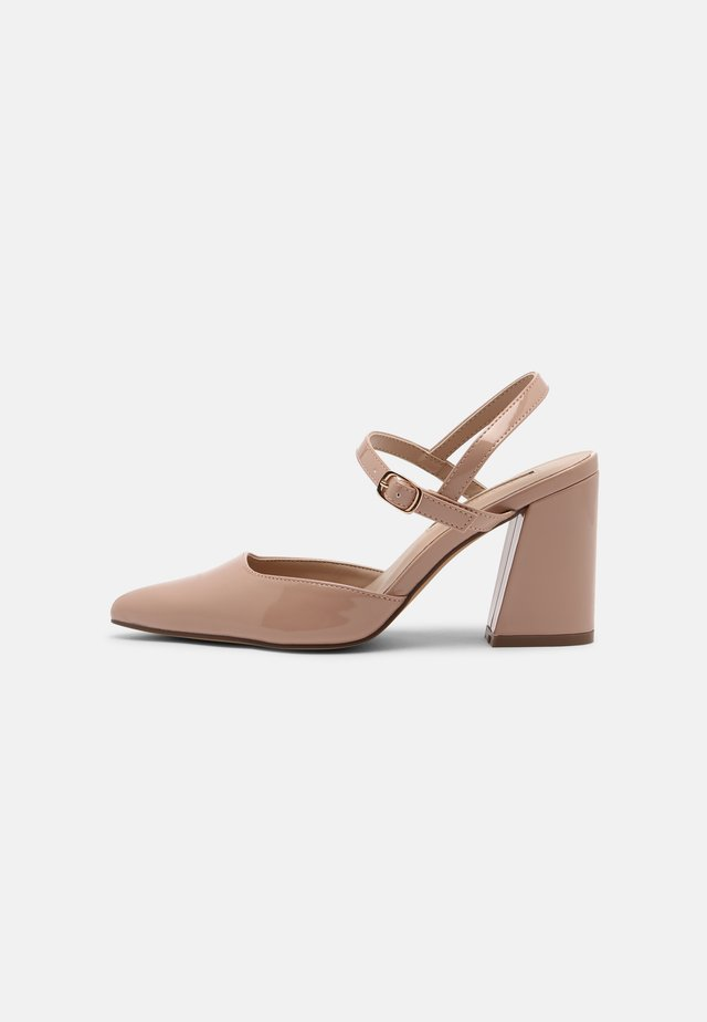 DRAW COURT - Classic heels - blush