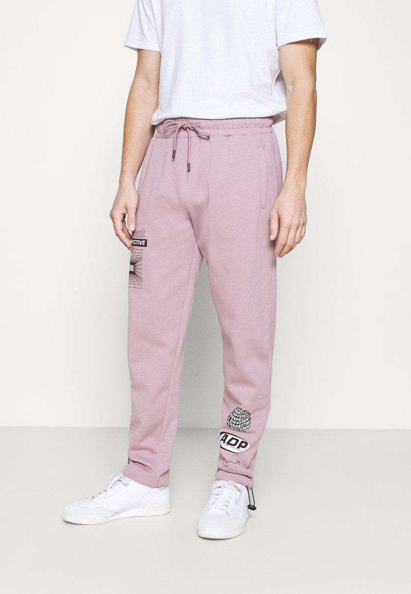 Topman - PRINTED BUNGY  - Pantaloni sportivi - lilac
