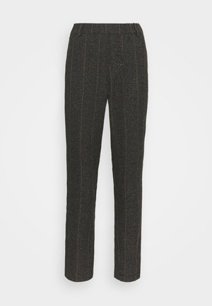 GERRY BOUCLE PANT - Trousers - chocolate chip