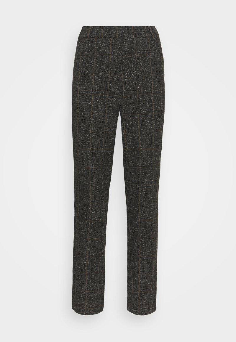 Mos Mosh - GERRY BOUCLE PANT - Trousers - chocolate chip