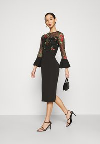 WAL G. - MIDI DRESS - Cocktail dress / Party dress - black - 1