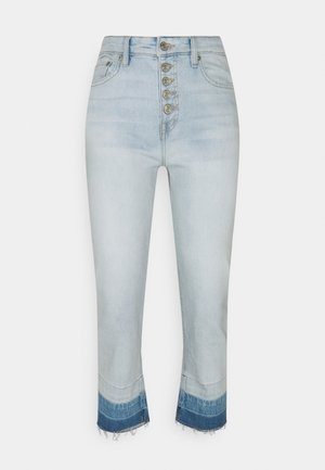 Straight leg jeans - paradise blue wash