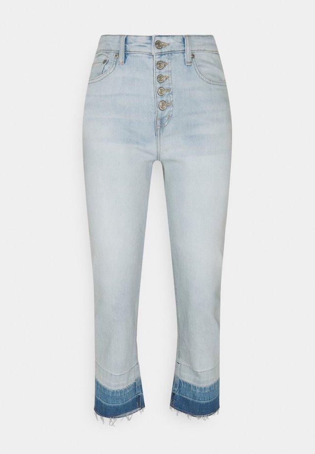 Jeansy Straight Leg - paradise blue wash