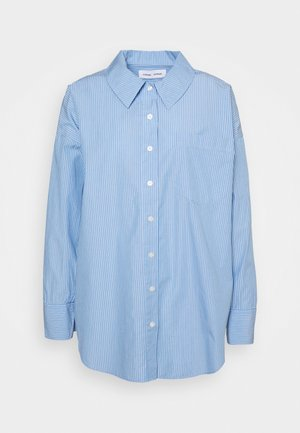 ARIELLE SHIRT - Button-down blouse - dusty blue