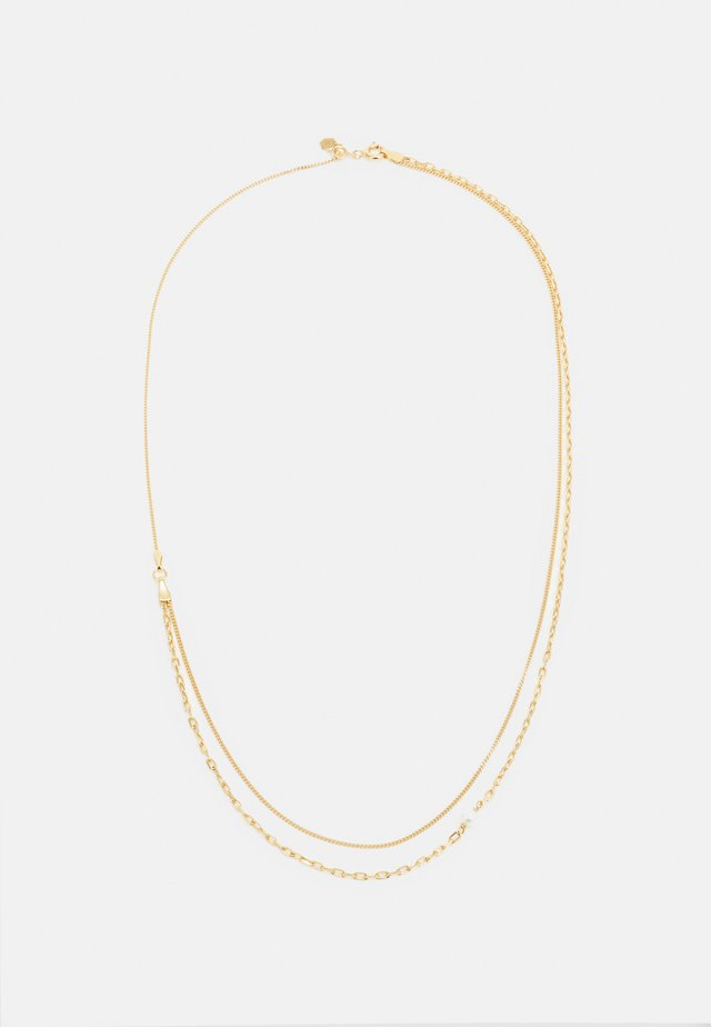CANTARE NECKLACE - Øreringe - gold-coloured