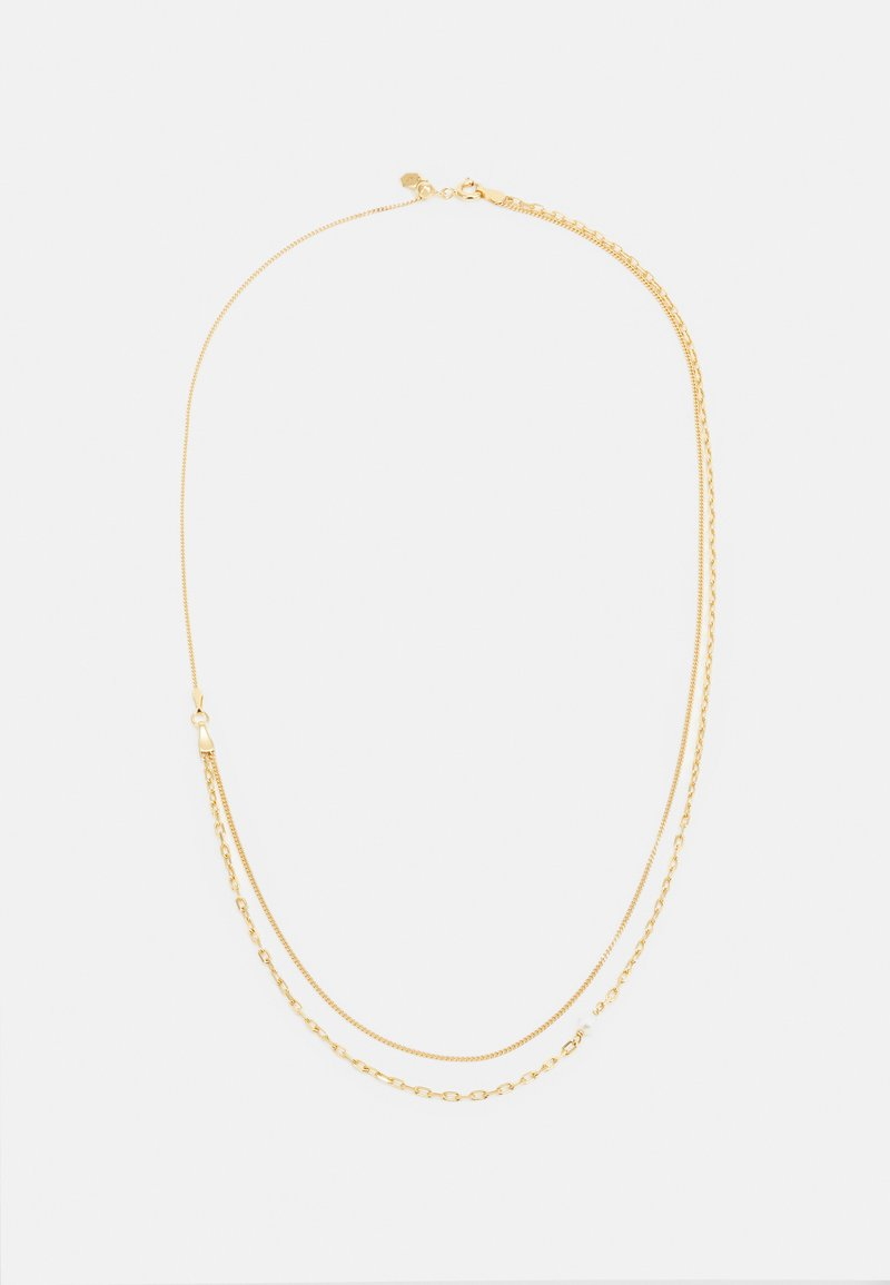 Maria Black - CANTARE NECKLACE - Earrings - gold-coloured