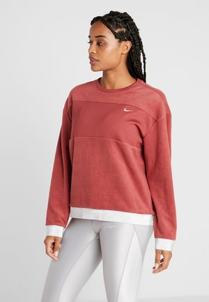 ICON CREW - Fleece jumper - cedar/metallic