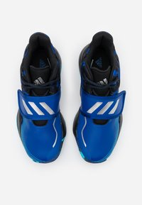 adidas Performance - DEEP THREAT CLOUDFOAM BASKETBALL SHOES - Basketbalové boty - royal blue/core black/collegiate navy - 3
