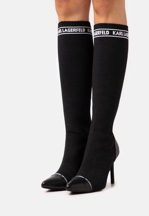 HI LEG BOOT - High heeled boots - black