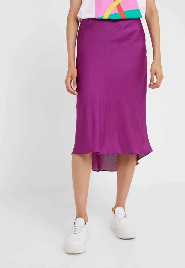 LAURA SKIRT - A-snit nederdel/ A-formede nederdele - fuchsia