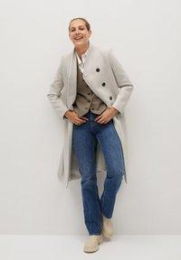 Mango - LUNA - Classic coat - open beige - 1