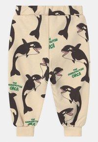 Mini Rodini - ORCA UNISEX - Trousers - offwhite - 1