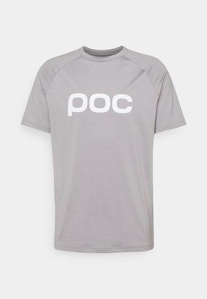 REFORM ENDURO TEE - T-Shirt print - alloy grey