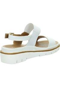 Marc - ROSA - Wedge sandals - weiß - 1